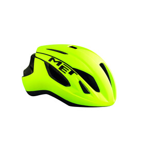 MET Strale Bike Helmet yellow/green